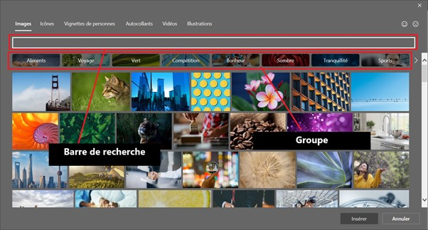 Formation en PowerPoint pour insérer des images_2