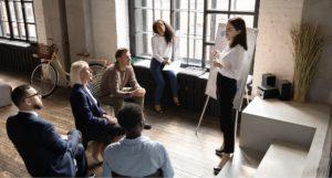 Formation anglais à distance CPF sur la présentation d'une société