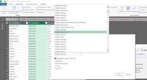 Formation excel power query fractionner la colonne type