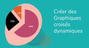 Formation Excel à distance - créer des graphiques croisés dynamiques