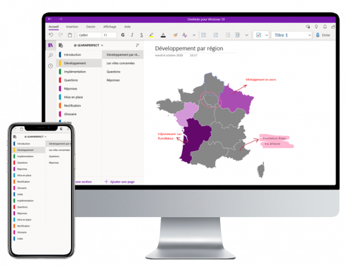 Formation OneNote à distance